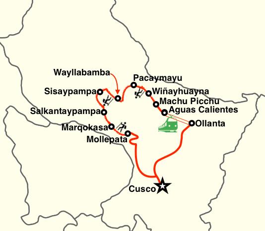 Salkantay and Inca Trail